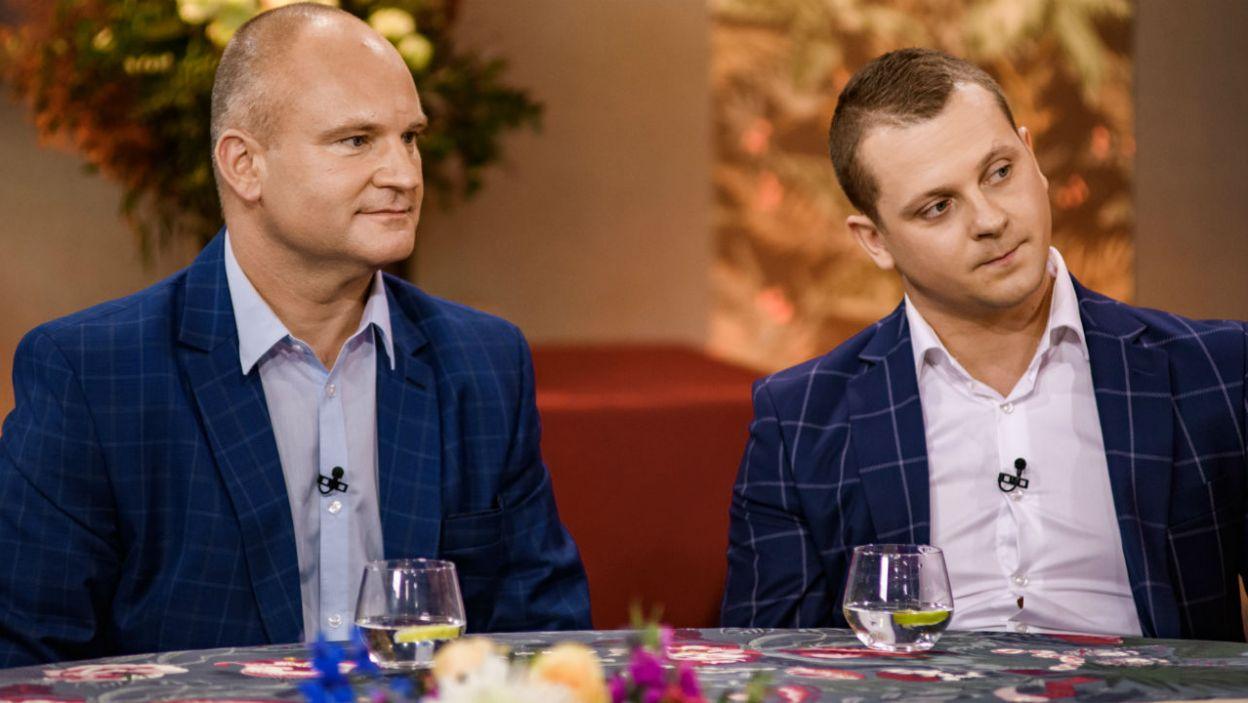 Czy Waldemar żałuje, że zrezygnował z udziału w programie? (fot. TVP)