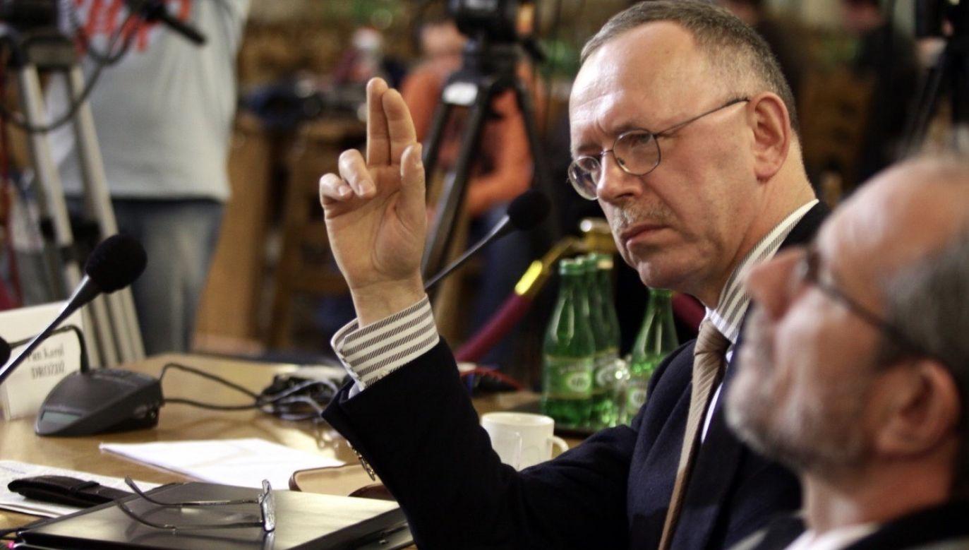 Prof. Gontarski: Adamowi Bodnarowi możemy zarzucić kłamstwo przedwyborcze (fot. arch.PAP/Tomasz Gzell)
