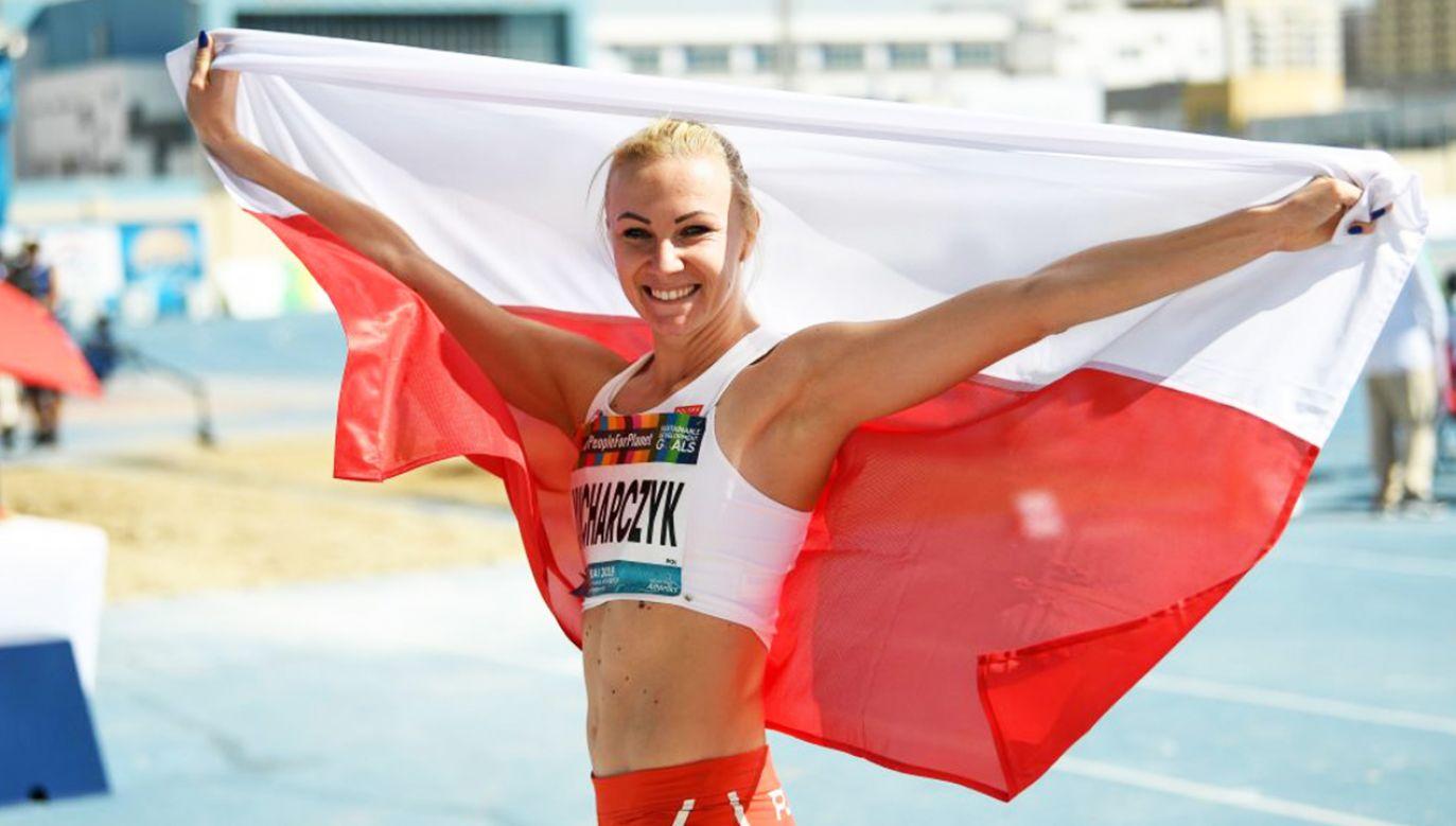 Jednocześnie zawodniczka ustanowiła nowy rekord świata (fot. PZSN/Bartłomiej Zborowski)