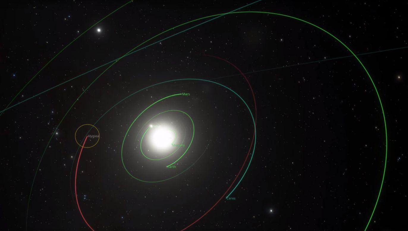 Obecnie naukowcy uznają oficjalnie pięć planet karłowatych (fot. European Southern Observatory ESO)