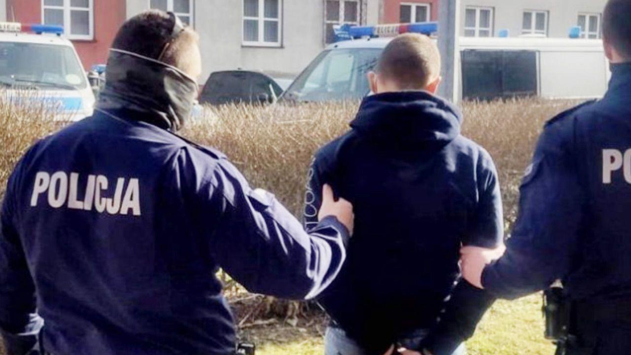 Napadli na sklep, a później zaatakowali  kobietę i policjanta (fot. Policja)