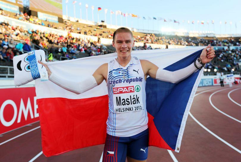 Czech wygrał bieg na 400 metrów (fot. Getty Images)