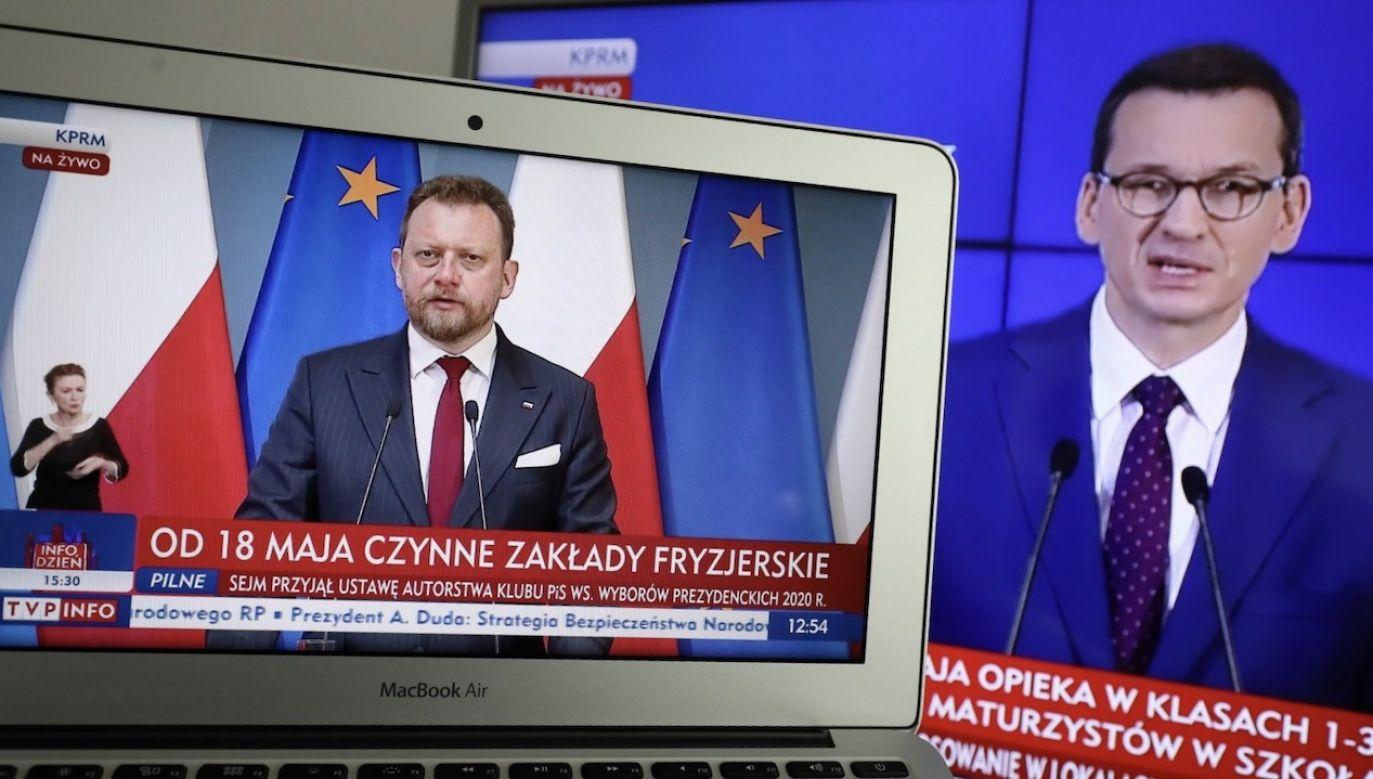 Gdyby Zjednoczona Prawica nie podjęła właściwych decyzji, ofiar byłoby wielokrotnie więcej (fot. PAP/Paweł Supernak)