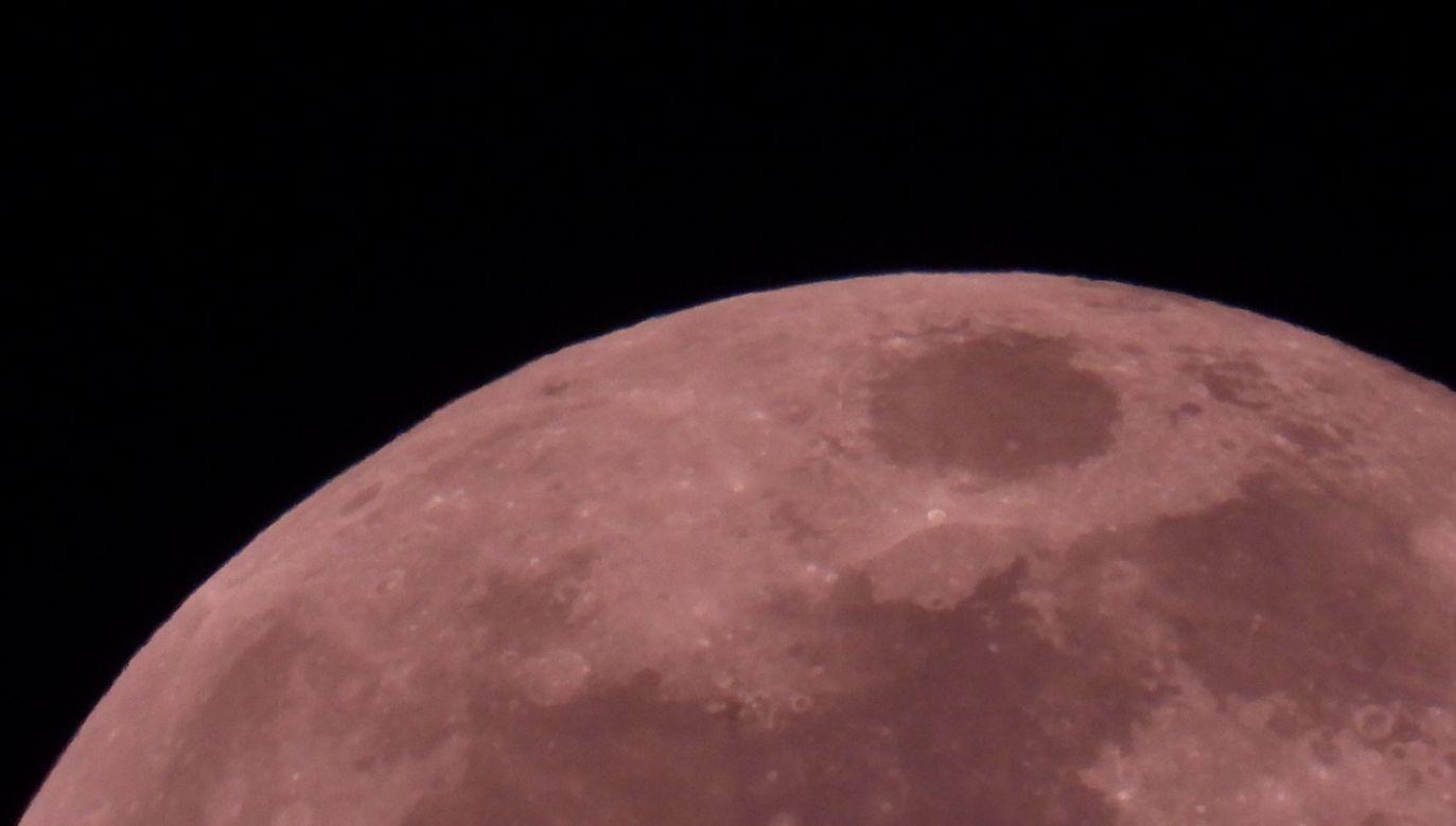 Tej nocy księżyc znalazł się w punkcie najbliższym Ziemi (fot. Twoje Info)