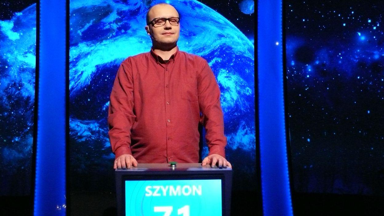 Pan Szymon Wojtaszek zwyciężył 16 odcinek 117 edycji