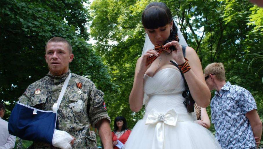 Ślub Motorlii i Jeleny (fot. ruskaviesna.ru)