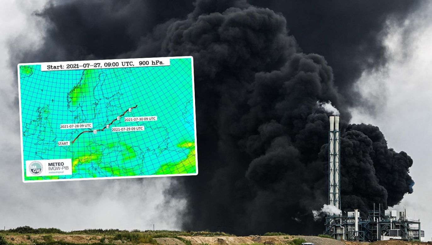 IMGW monitoruje zagrożenie (fot. PAP/EPA/SASCHA STEINBACH; IMGW)