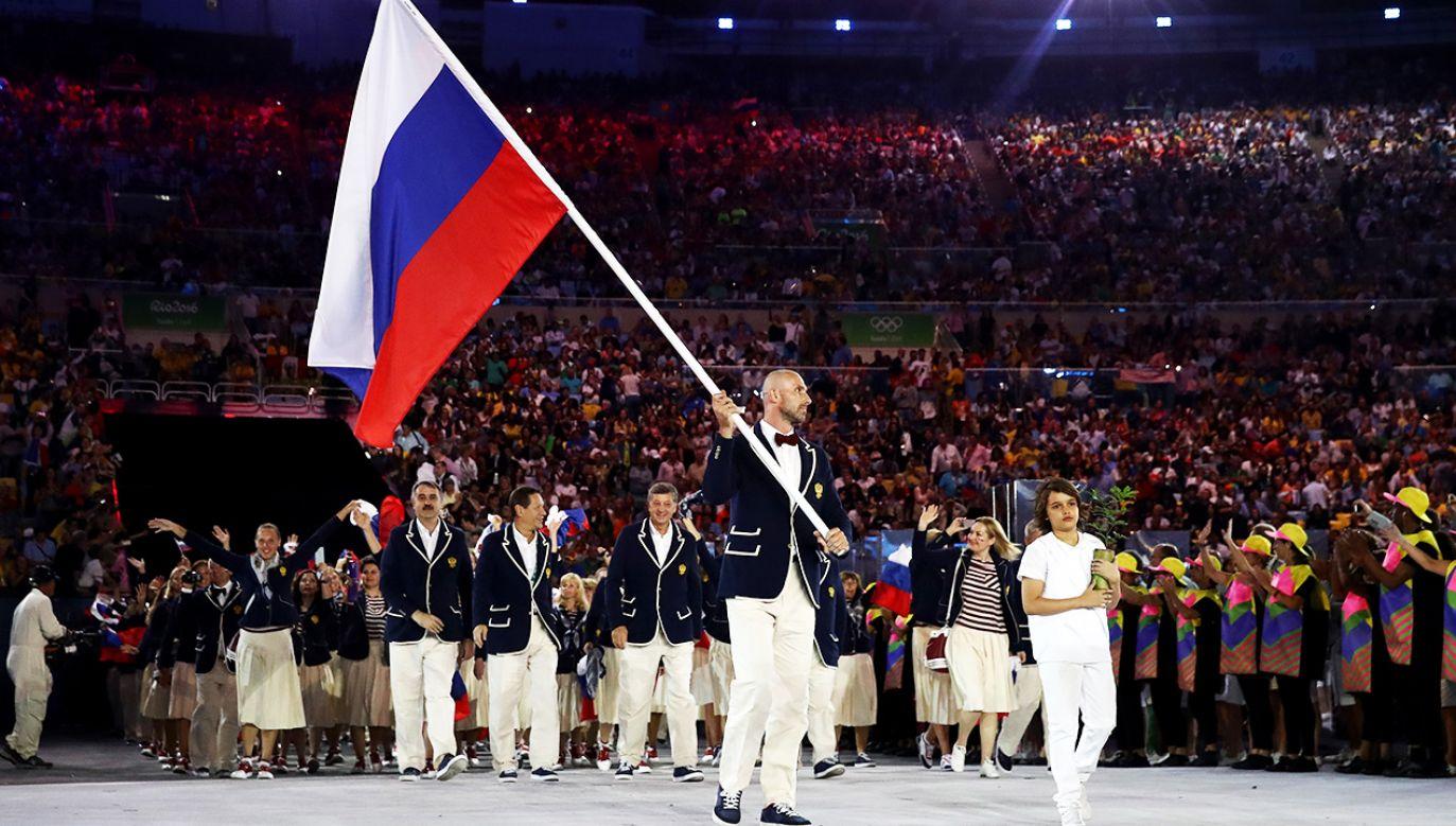 Rosyjscy sportowcy nie będą mogli startować w Tokio i w Pekinie w swoich barwach (fot. Cameron Spencer/Getty Images)