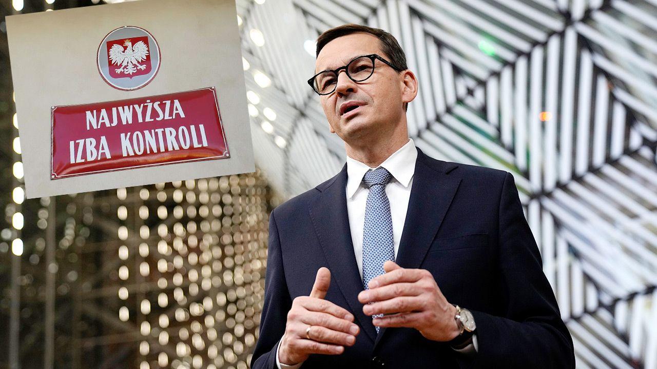 Mateusz Morawiecki odpowiada ws. doniesienia NIK (fot. PAP/EPA/Francsico Seco / POOL)