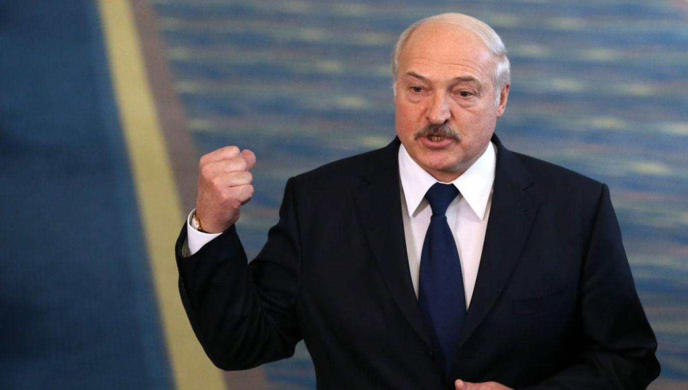 Łukaszenka zaznaczył, że jakakolwiek obecność rosyjskich wojskowych na terytorium Białorusi wymaga zgody Mińska, a konkretnie prezydenta (fot. Mikhail Svetlov/Getty Images)