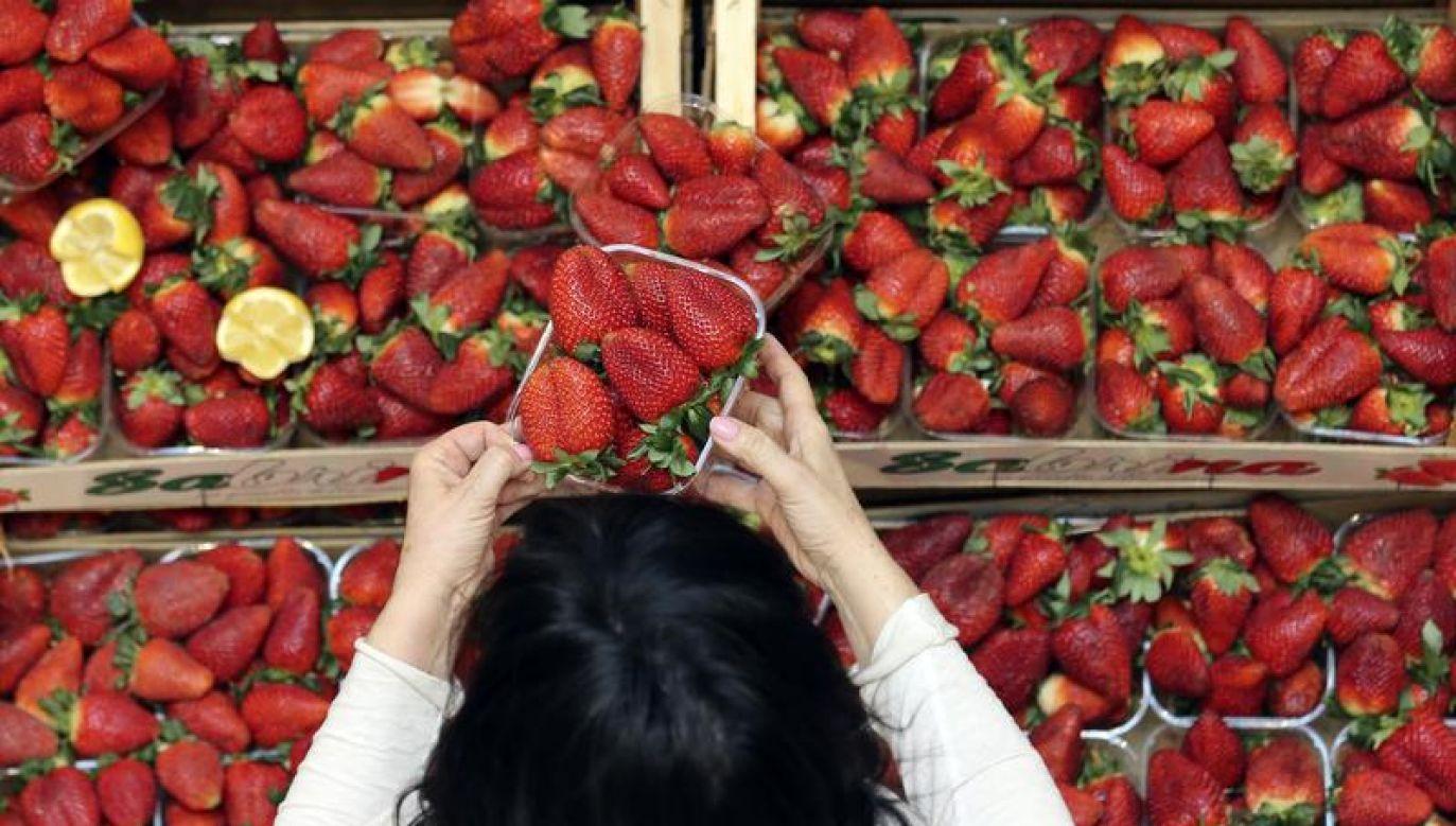 Producenci żywności są jednak bardzo ostrożni (fot. REUTERS/Stefano Rellandini)