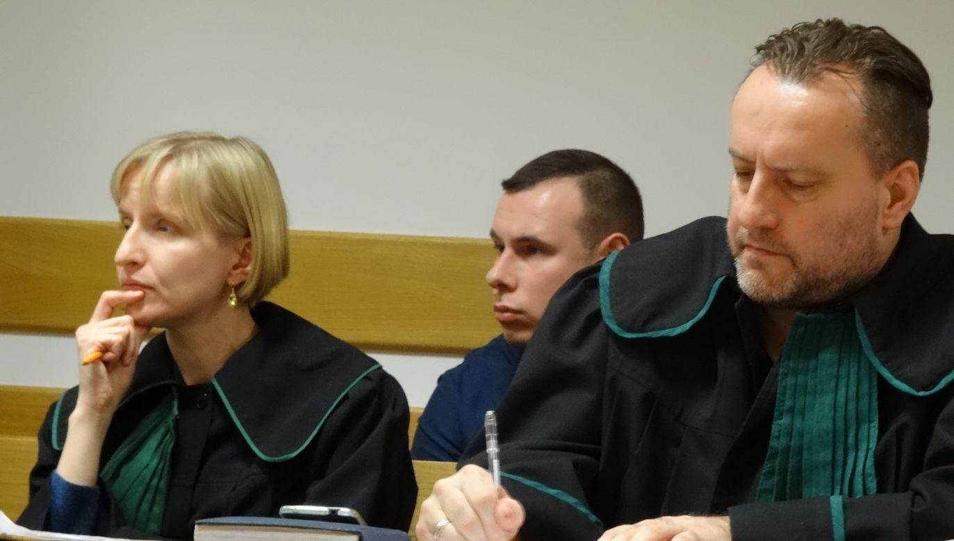 Raper Bonus RPK walczy o kasację wyroku (fot. portal tvp.info)