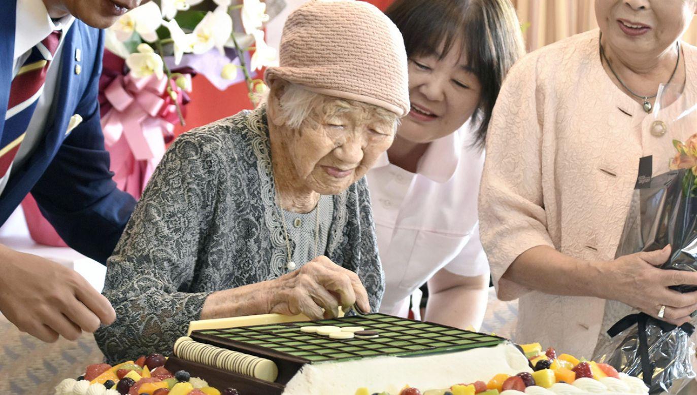 Do historycznego wydarzenia ma dojść w mieście Shime w prefekturze Fukuoka (fot. Kyodo News via Getty Images)