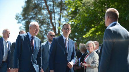Morawiecki: Polski Ład to także inwestycje i tworzenie nowych warunków do rozwoju (fot. PAP/M. Obara)