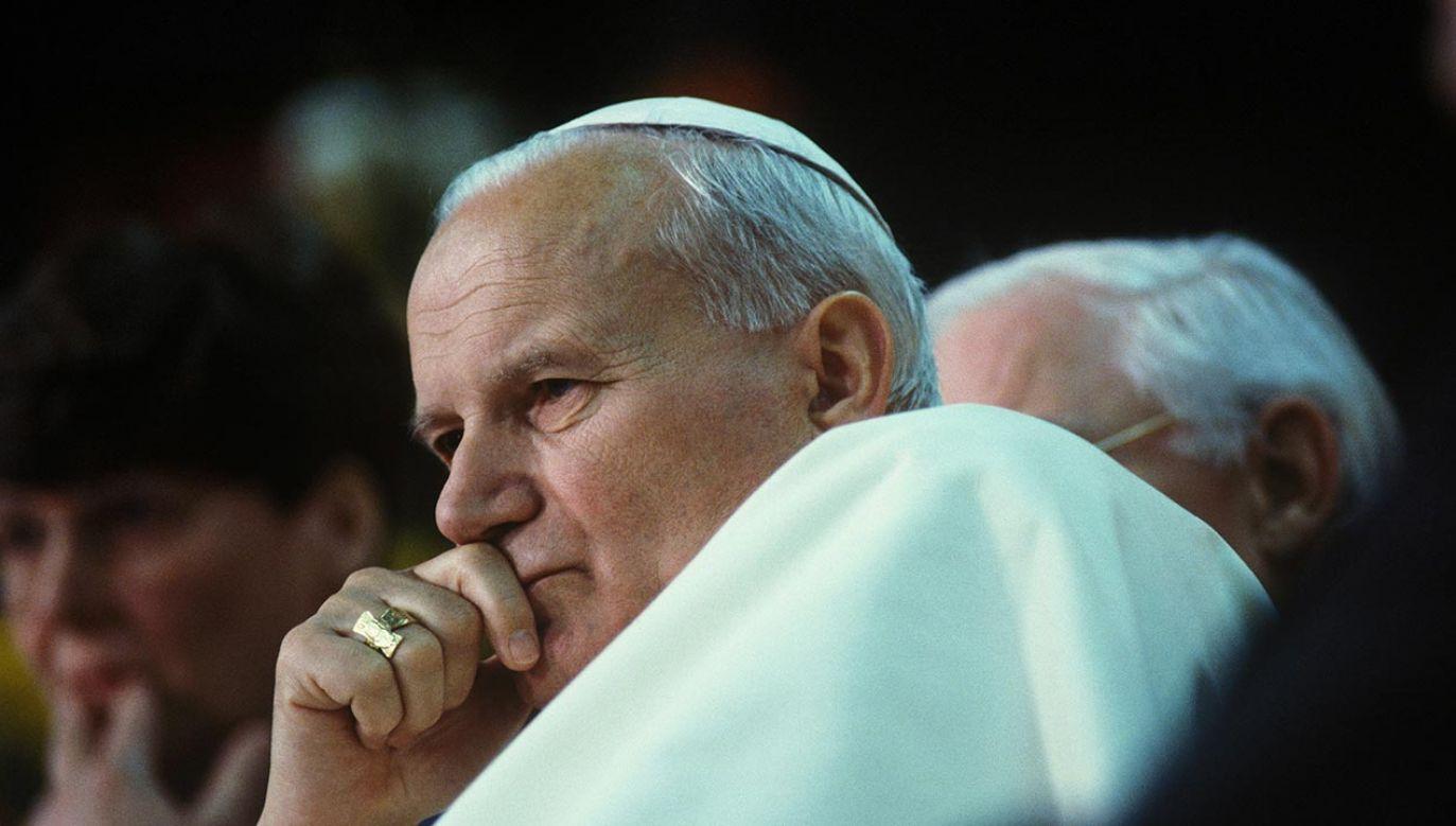 Rocznica urodzin Karola Wojtyły (fot.  Marc DEVILLE/Gamma-Rapho via Getty Images)