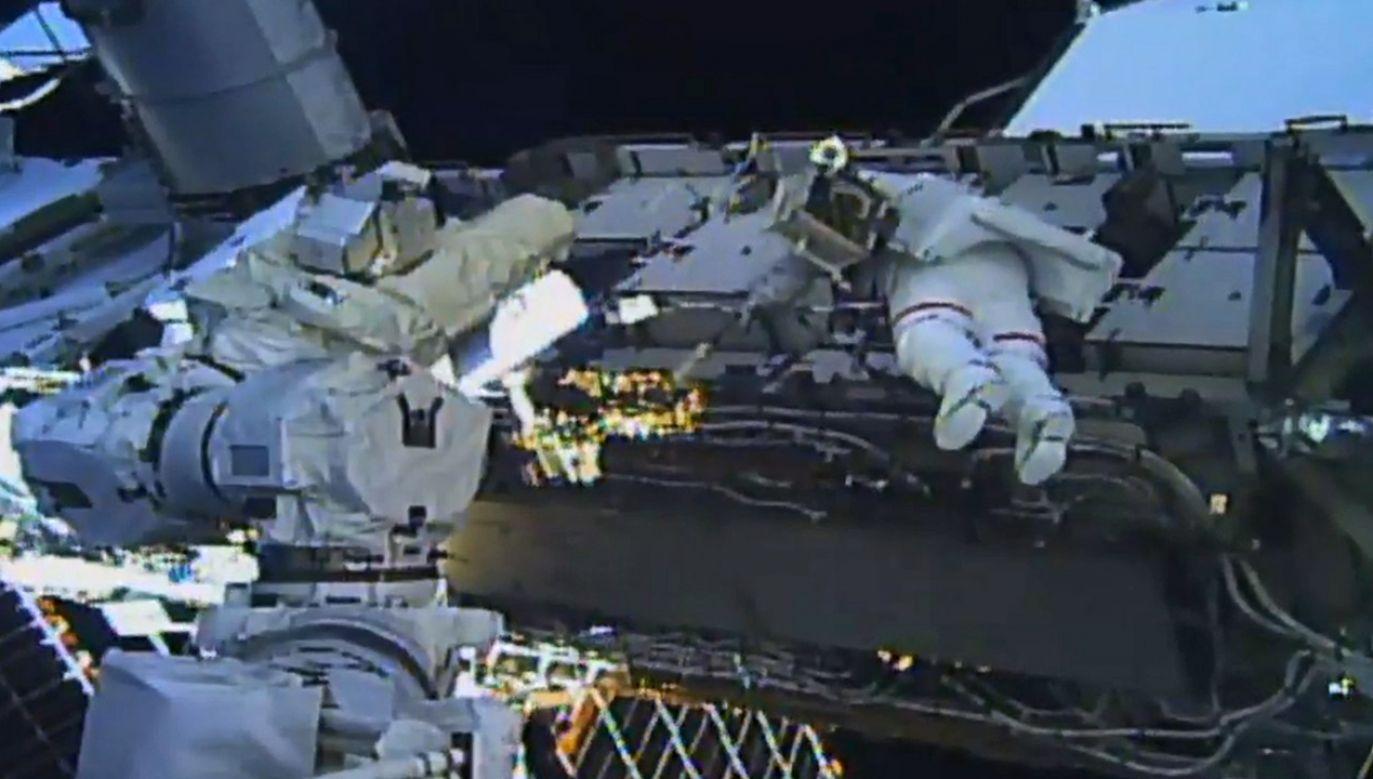 Współpraca  ma dotyczyć m.in. robotyki oraz ochrony planetarnej (fot. PAP/EPA/NASA TV)
