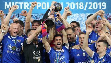 Od sezonu 2016/17 najważniejsze rozgrywki piłkarskie w Polsce funkcjonowały jako Lotto Ekstraklasa (fot. arch. PAP/Andrzej Grygiel)