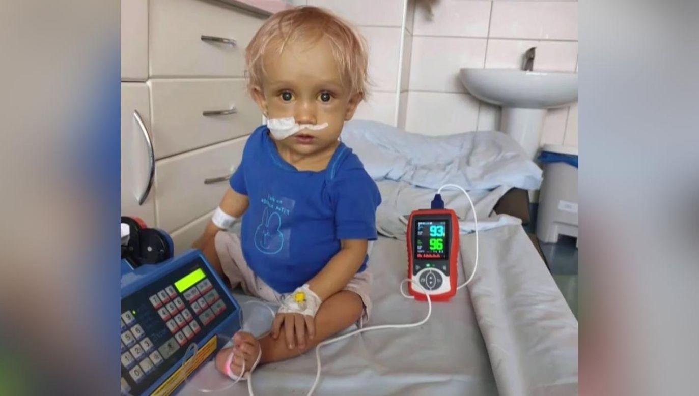 Chłopiec zmaga się z wieloma poważnymi chorobami (fot. Archiwum prywatne rodziny)