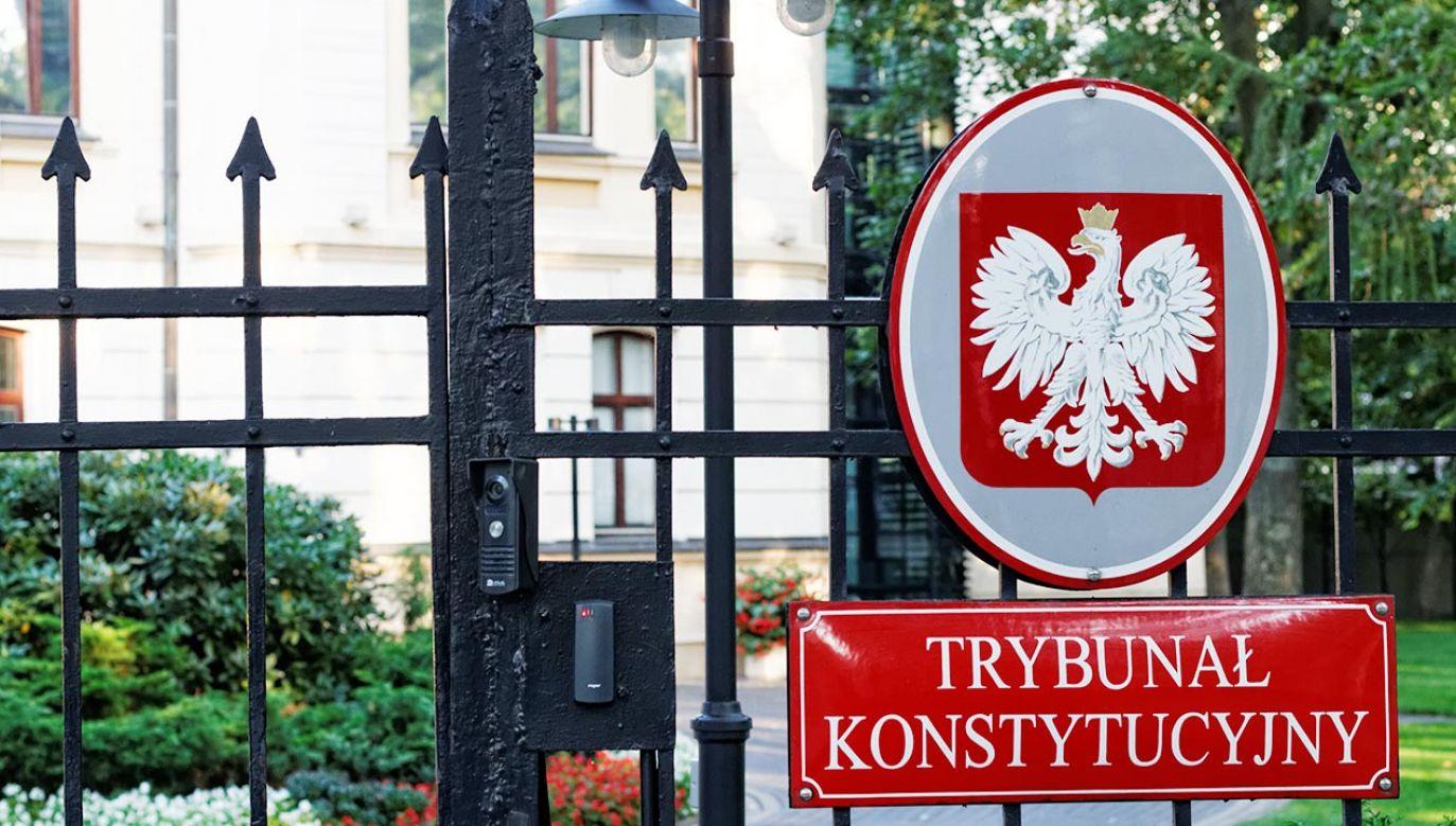 Trybunał Konstytucyjny (fot. Shutterstock)