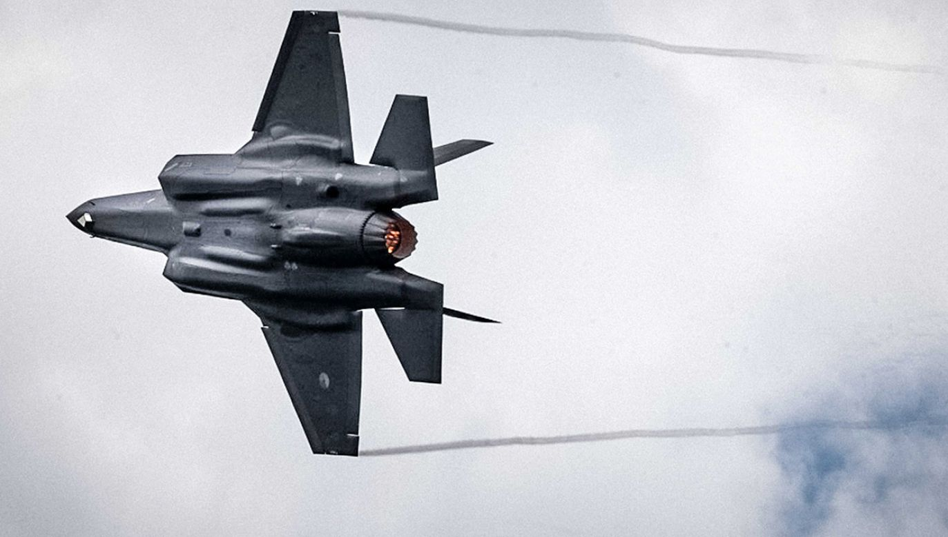 Minister obrony zapewnił, że Polska kupi F-35 (fot. PAP/EPA/ROB ENGELAAR)