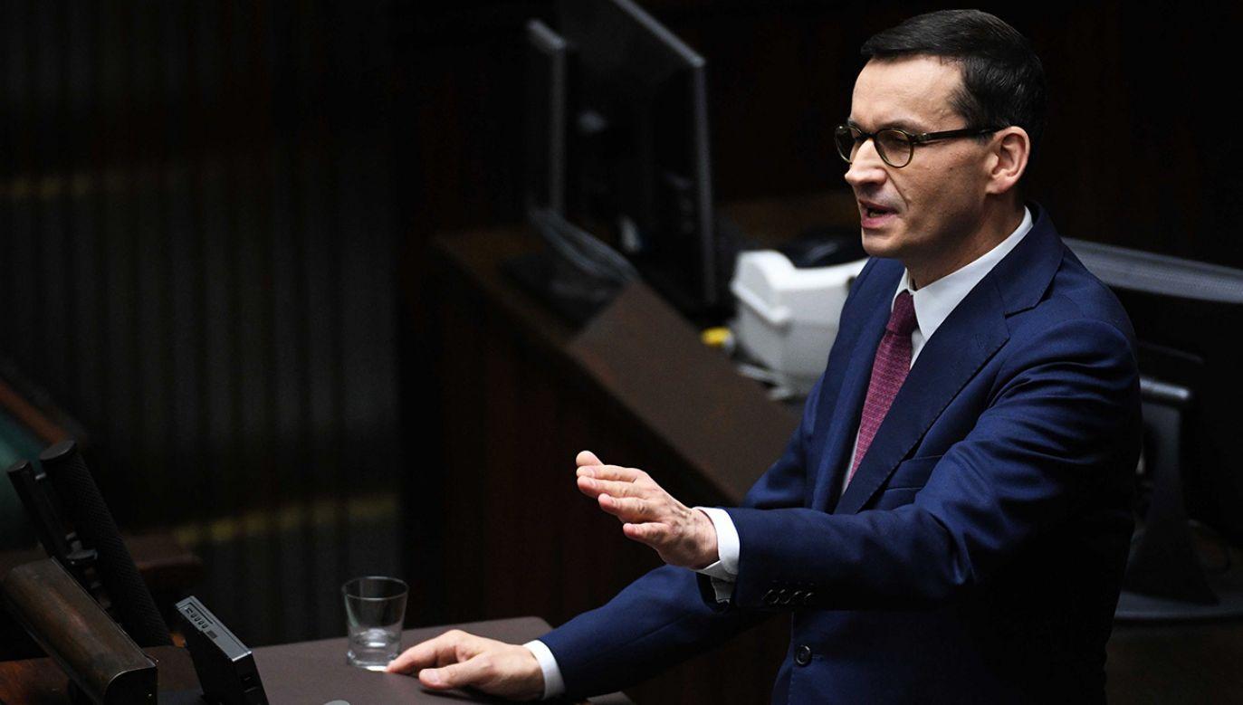 – Na pewno premier wyznaczy kierunki działania na najbliższe cztery lata – powiedział szef MEN (fot. ach.PAP/Radek Pietruszka)
