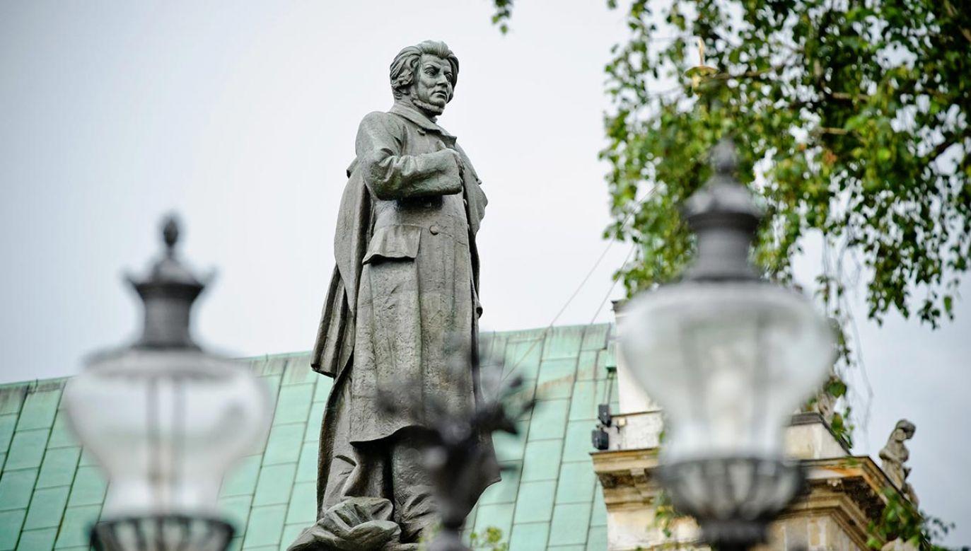 Pogrzeb Adama Mickiewicza w Paryżu odbył się 21 stycznia 1856 roku (fot. PAP/Wojciech Pacewicz)