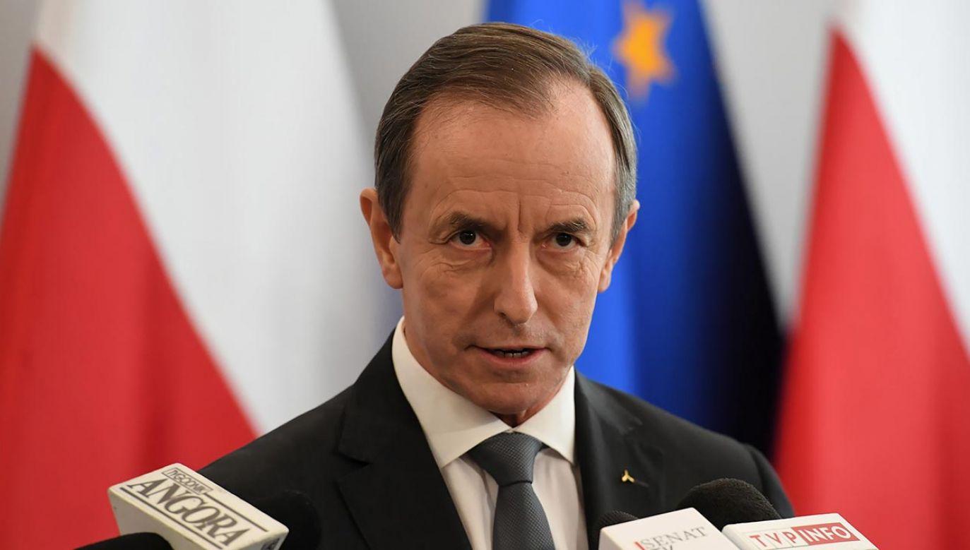 Marszałek Senatu Tomasz Grodzki (fot. PAP/Piotr Nowak)
