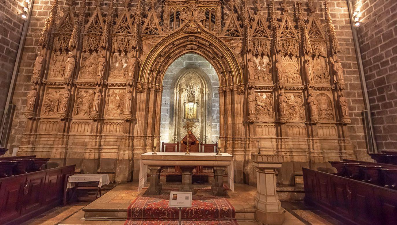 Kaplica Świętego Kielicha w katedrze w Walencji (fot. Shutterstock/Cortyn)