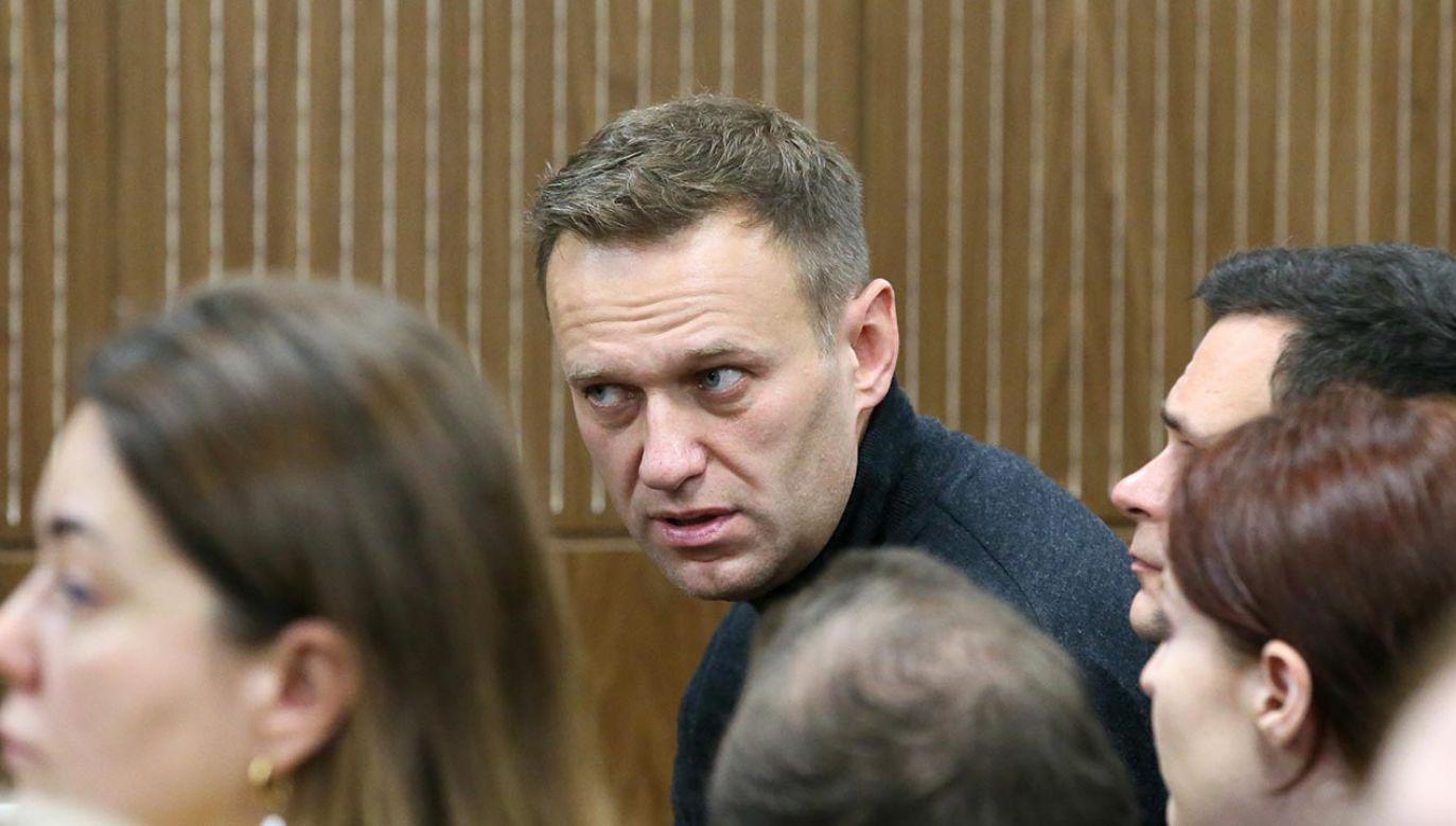 Nowe zarzuty dla Nawalnego (fot.  Vladimir Gerdo\TASS via Getty Images)