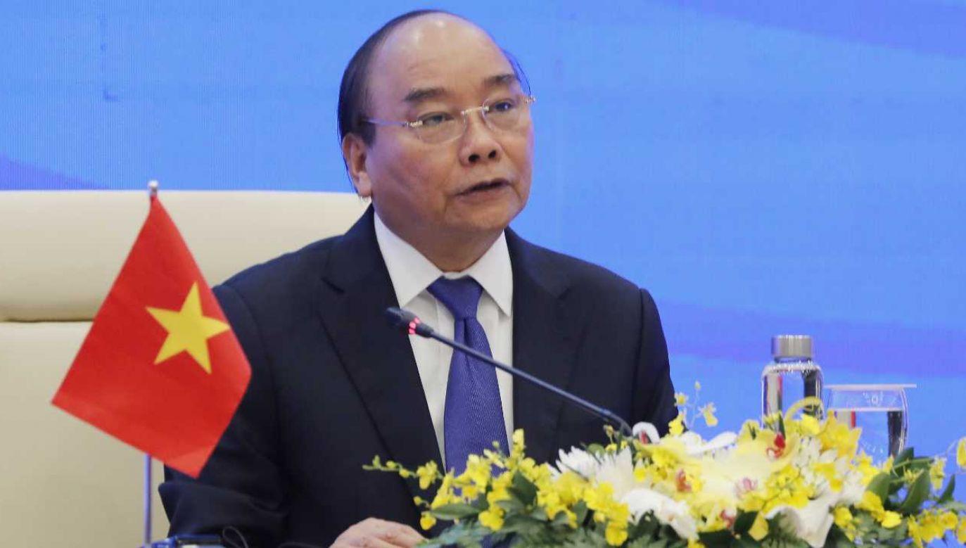 Premier Wietnamu Nguyen Xuan Phuc (fot. PAP/EPA/LUONG THAI LINH)