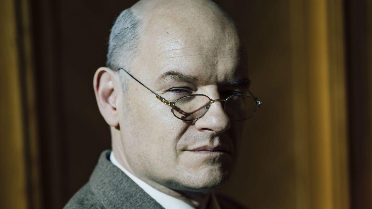 Redbar Klynstra-Komarnicki zagrał Komarnickiego – rzecznika prasowego (fot. Stanisław Loba)