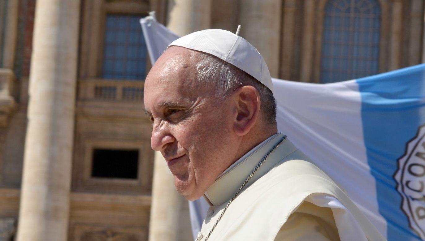 Papież Franciszek (fot. pixabay.com/Annett_Klingner)