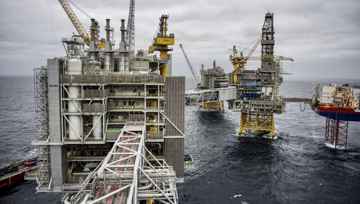 PGNiG poinformowało, że PST będzie miała możliwość eksportowania gazu od Oersteda m.in. na terytorium Niemiec lub Polski (fot. Carina Johansen/Bloomberg via Getty Images, zdjęcie ilustracyjne)