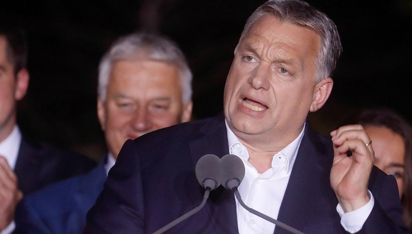 Premier Węgier Wiktor Orban (fot. Laszlo Balogh/Getty Images)