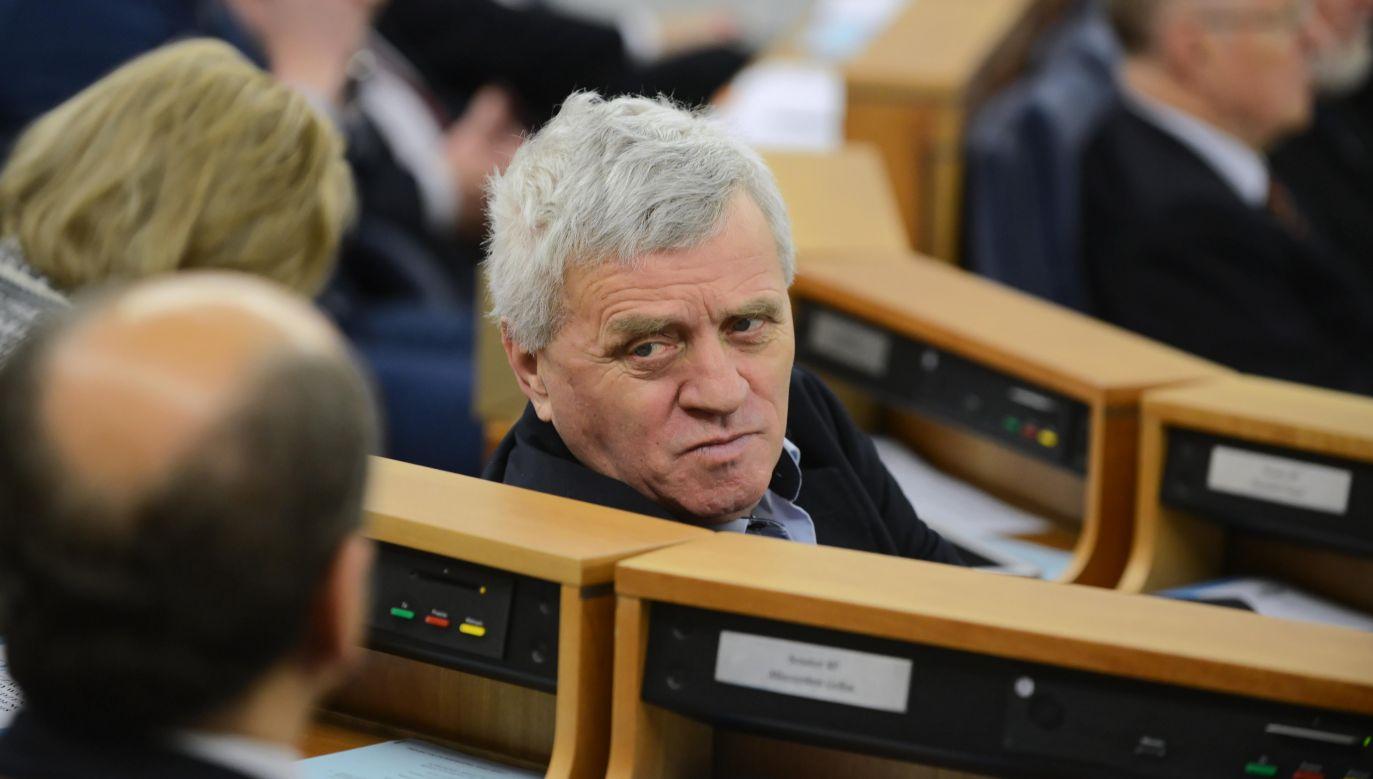 Były senator Stanisław Kogut (fot.arch. PAP/Jakub Kamiński)