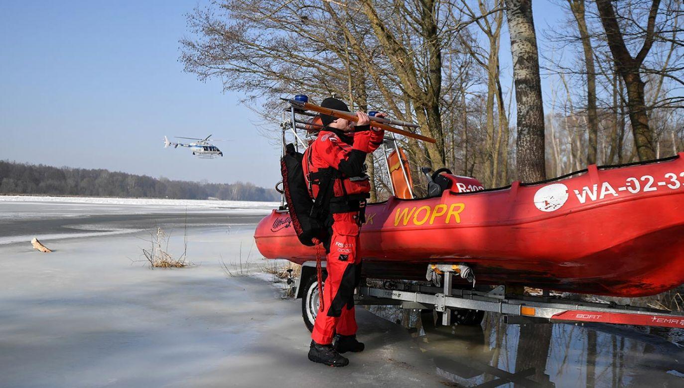 Nowe informacje ws. poszukiwania ciała Jana Lityńskiego (fot. PAP/Marcin Obara)