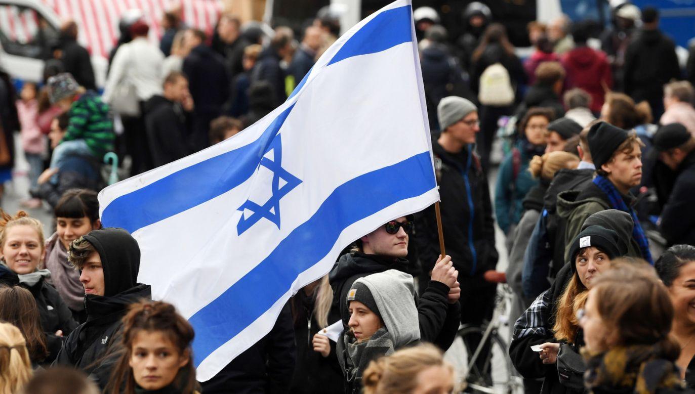 W zamachu w Halle zginęły dwie osoby (fot. PAP/EPA/Filip Singer)
