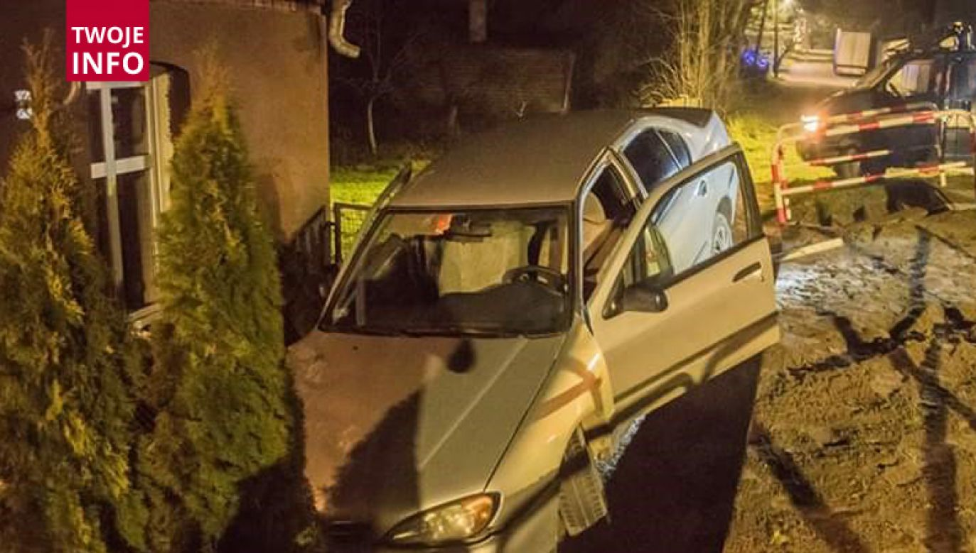 Kierowca został zatrzymany (fot. Twoje Info)