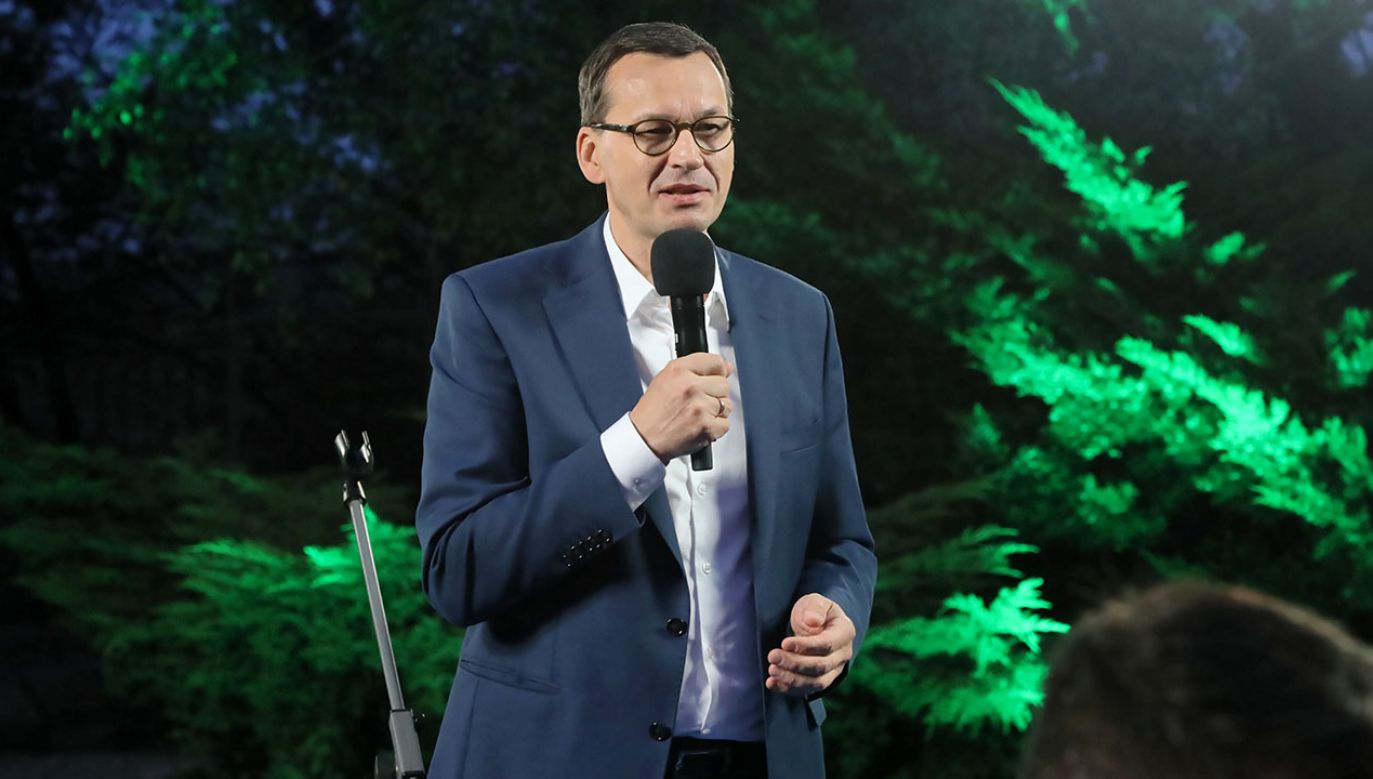 Bój jest przed nami. Nic nie jest przesądzone – mówił szef rządu do młodych działaczy PiS (fot. PAP/Wojciech Olkuśnik)
