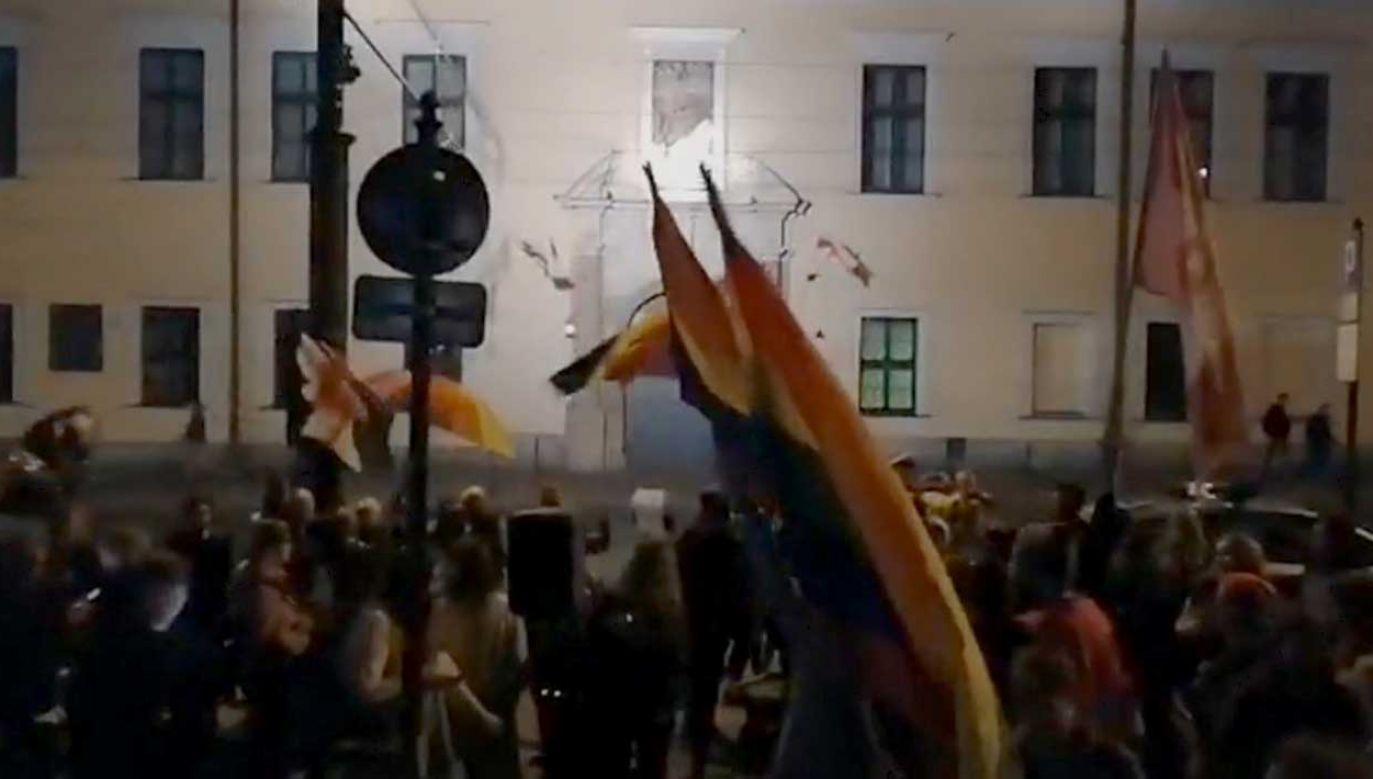 Miał to być protest przeciw zakazowi propagowania seksu z dziećmi (fot. TT/Andrzej Holinka)