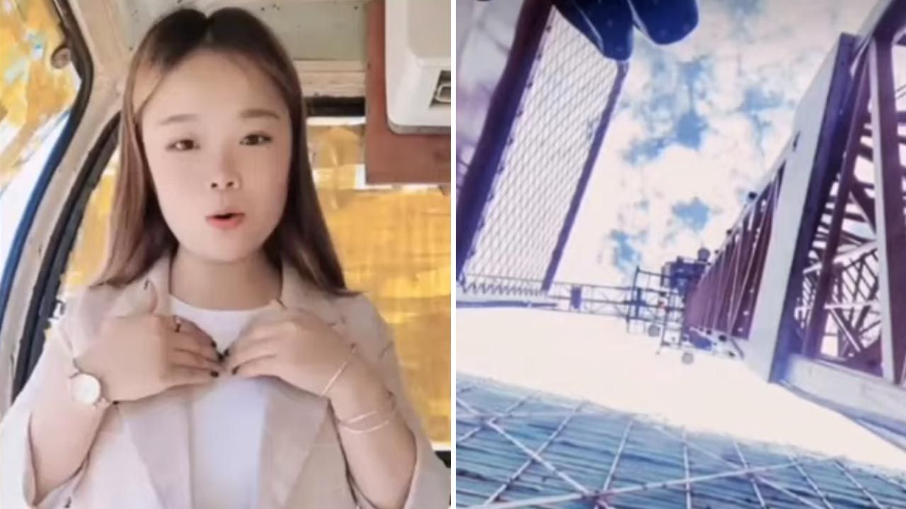23-latka spadła z dźwigu (fot. YouTube)