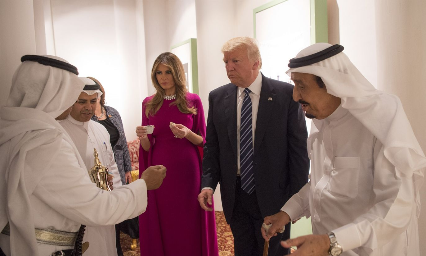 (fot. Bandar Algaloud / Saudi Royal Council / Handout/Anadolu Agency/Getty Images)