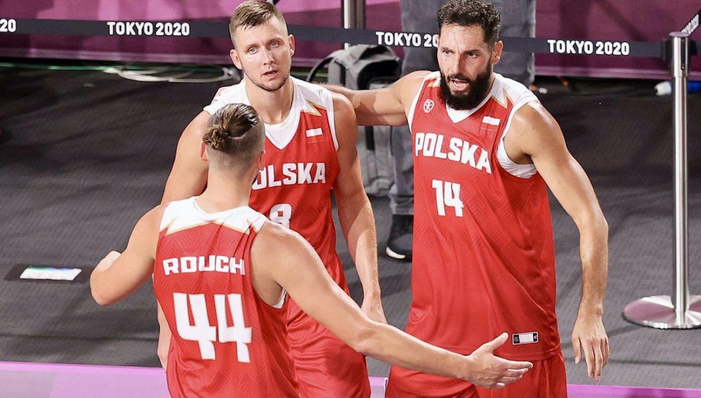 Reprezentacja Polski koszykarzy 3x3 (fot. Getty Images)