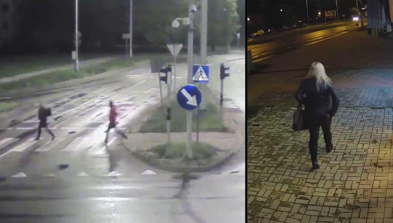 Osoby na nagraniu mogą mieć informacje na temat makabrycznej zbrodni (fot. KMP Olsztyn)