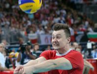 Krzysztof Ignaczak miał duże problemy po atomowych zagrywkach i atakach Rosjan (fot. Getty Images)