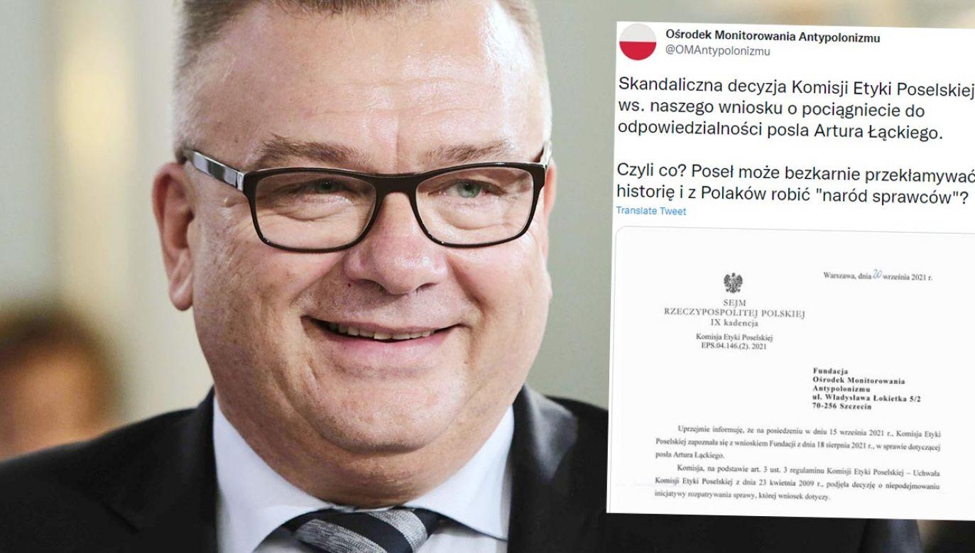 Komisja Etyki nie widzi powodu, aby ukarać posła PO (fot. PAP/Leszek Szymański)