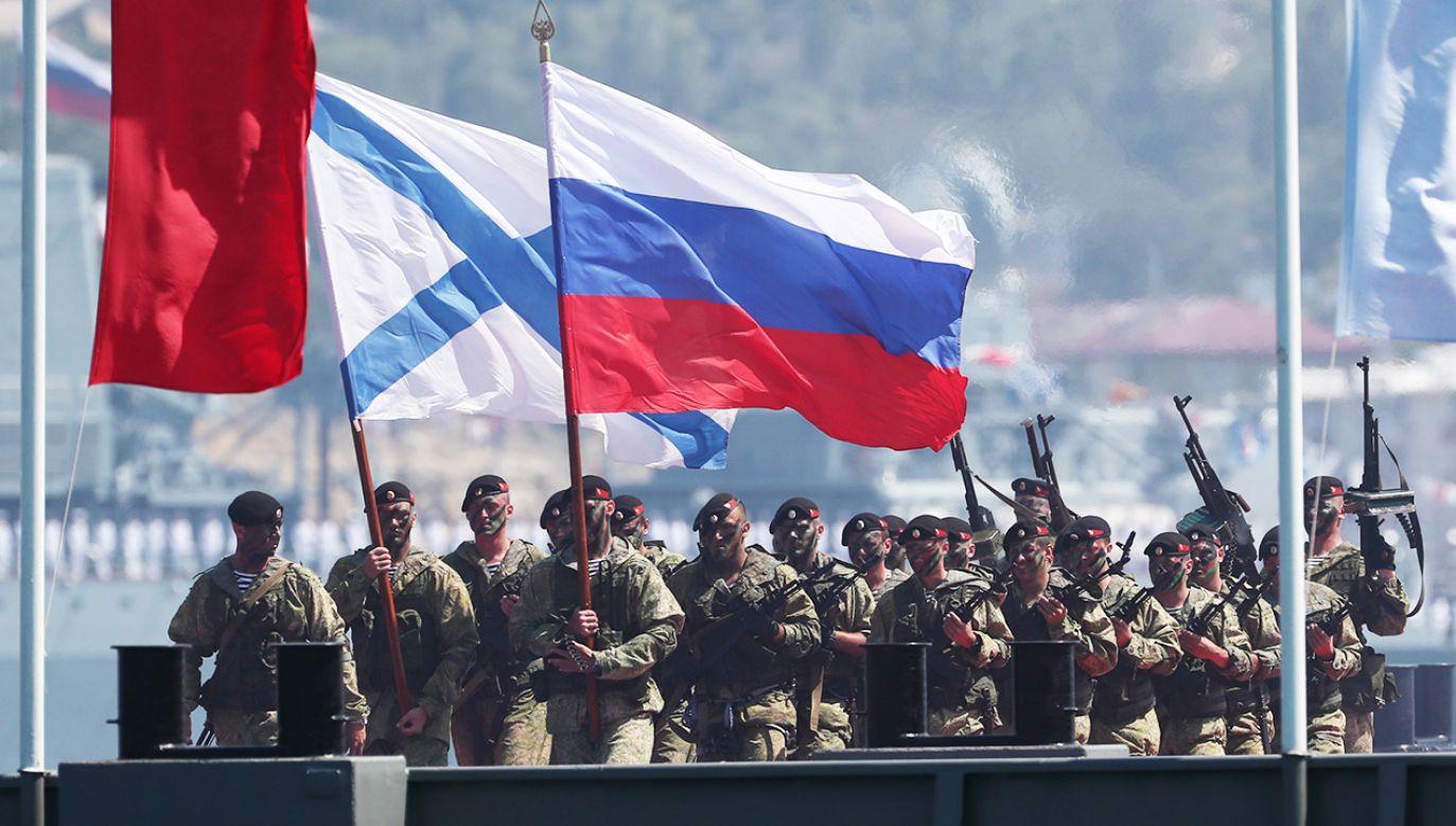 Rosjanie od sześciu lat militaryzują ukraiński Krym, co stanowi zagrożenie dla całego regionu (fot. Dmitry Feoktistov\TASS via Getty Images)