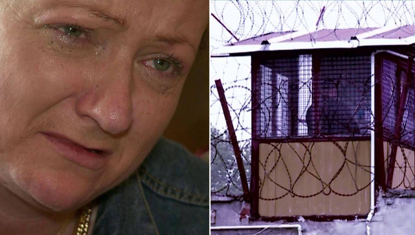 Karolina Lemke siedziała z morderczyniami (fot. TVP1)