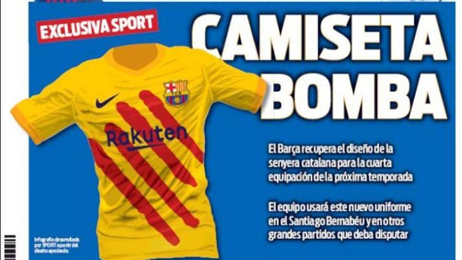 dbe2f133e Koszulki na specjalne okazje. Nowe stroje Barcelony (sport.tvp.pl)