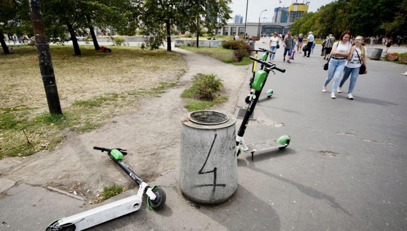 Kobieta była pijana i pod wpływem narkotyków (fot. Jaap Arriens/NurPhoto via Getty Images)